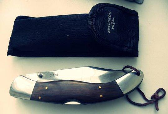 6)Нож С-124 Довод. Навахо по-китайски.