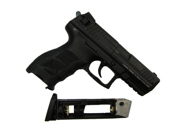 1)Пневматический пистолет Umarex HK P30