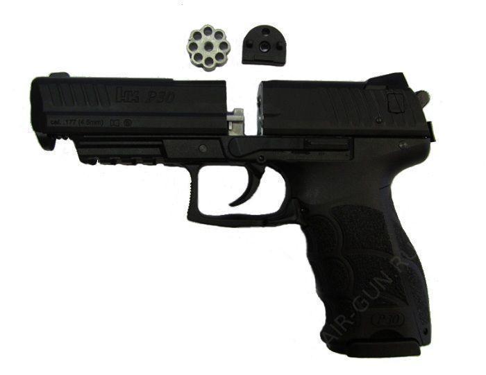 5)Пневматический пистолет Umarex HK P30
