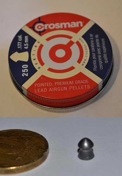 1)Crossman pointed - тест пуль
