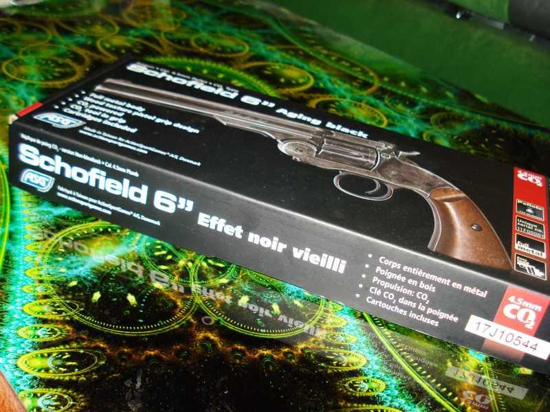 12)Пневматический пулевой револьвер ASG Schofield-6, его достоинства и недостатки
