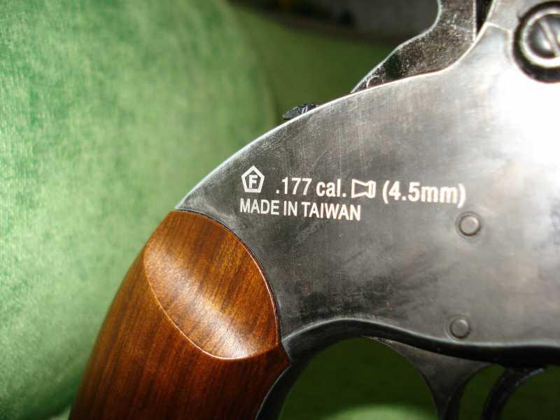 13)Пневматический пулевой револьвер ASG Schofield-6, его достоинства и недостатки