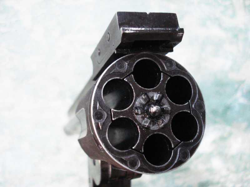 16)Пневматический пулевой револьвер ASG Schofield-6, его достоинства и недостатки