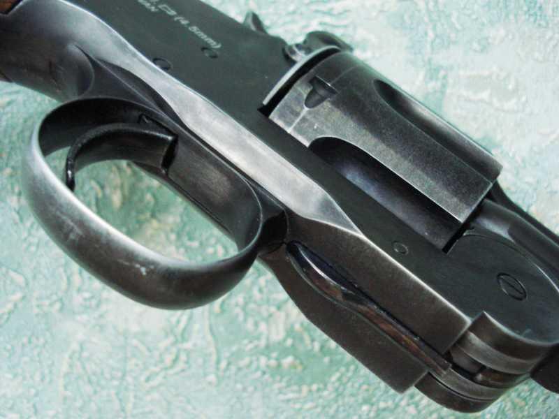 18)Пневматический пулевой револьвер ASG Schofield-6, его достоинства и недостатки