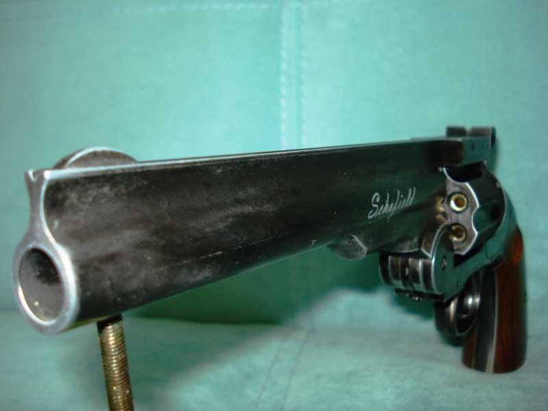 6)Пневматический пулевой револьвер ASG Schofield-6, его достоинства и недостатки