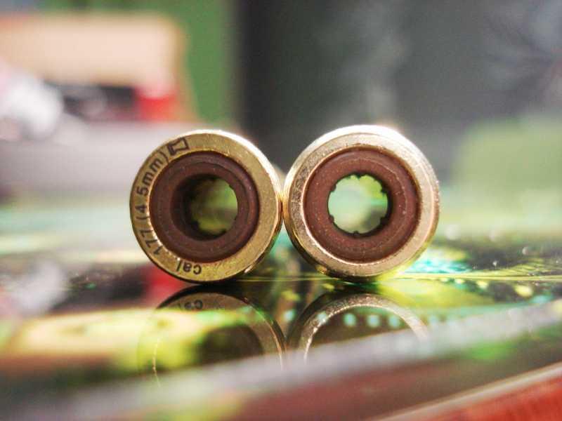 25)Пневматический пулевой револьвер ASG Schofield-6, его достоинства и недостатки
