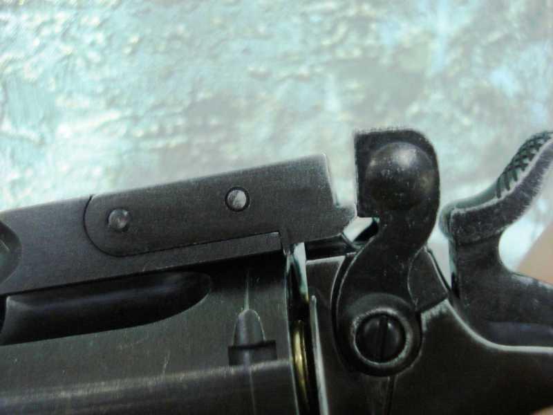 27)Пневматический пулевой револьвер ASG Schofield-6, его достоинства и недостатки