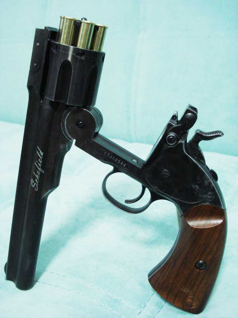 28)Пневматический пулевой револьвер ASG Schofield-6, его достоинства и недостатки