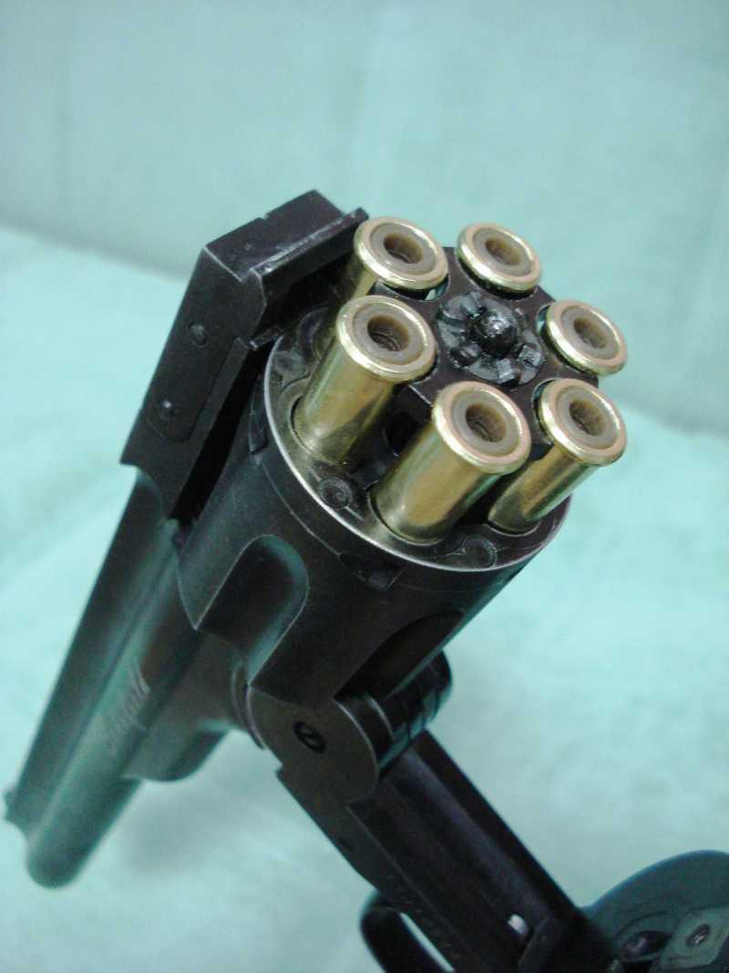 29)Пневматический пулевой револьвер ASG Schofield-6, его достоинства и недостатки