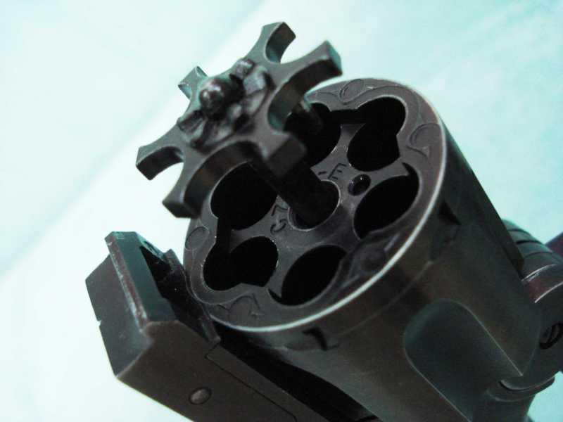 30)Пневматический пулевой револьвер ASG Schofield-6, его достоинства и недостатки