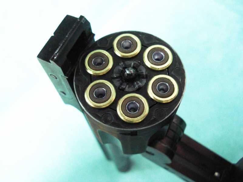 31)Пневматический пулевой револьвер ASG Schofield-6, его достоинства и недостатки