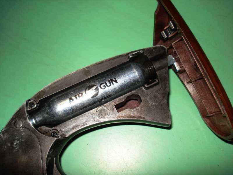 34)Пневматический пулевой револьвер ASG Schofield-6, его достоинства и недостатки