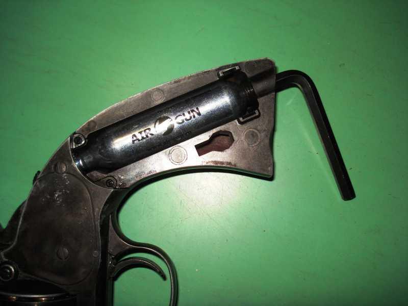 35)Пневматический пулевой револьвер ASG Schofield-6, его достоинства и недостатки