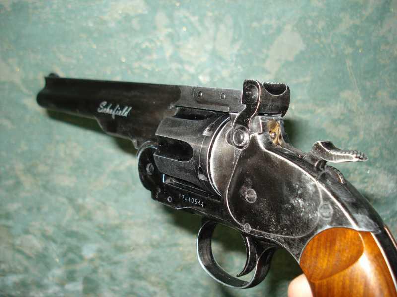 38)Пневматический пулевой револьвер ASG Schofield-6, его достоинства и недостатки
