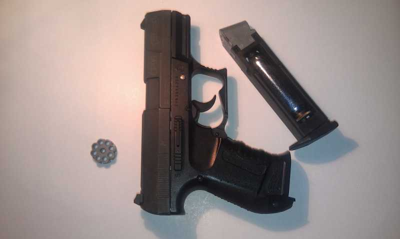 1)Обзор пистолета Umarex walther CP 99