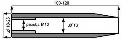 1)Надульник или фальш-ствол на мр512