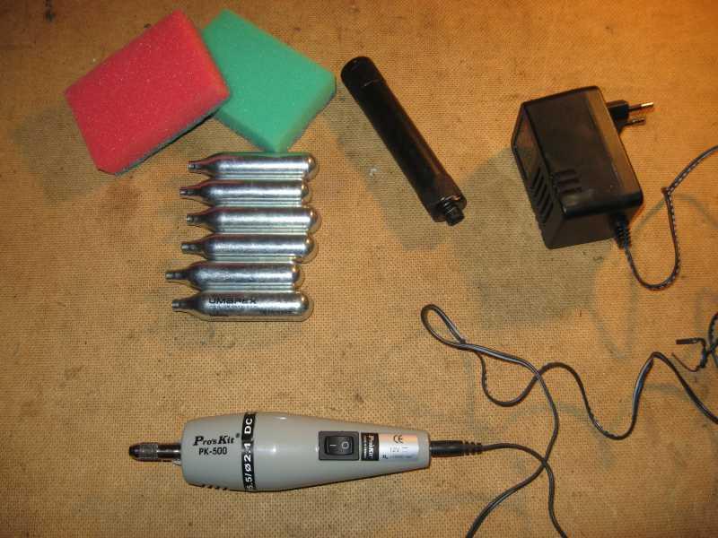 1)Самодельный модер (глушитель) для сотых аниксов
