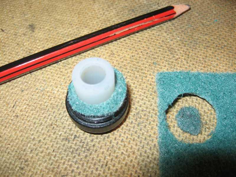 6)Самодельный модер (глушитель) для сотых аниксов