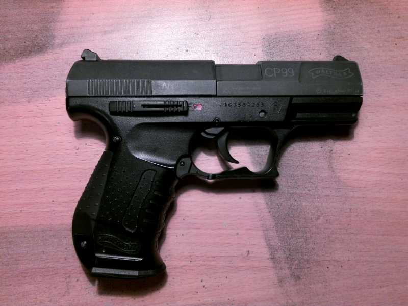 3)Обзор пистолета Umarex walther CP 99