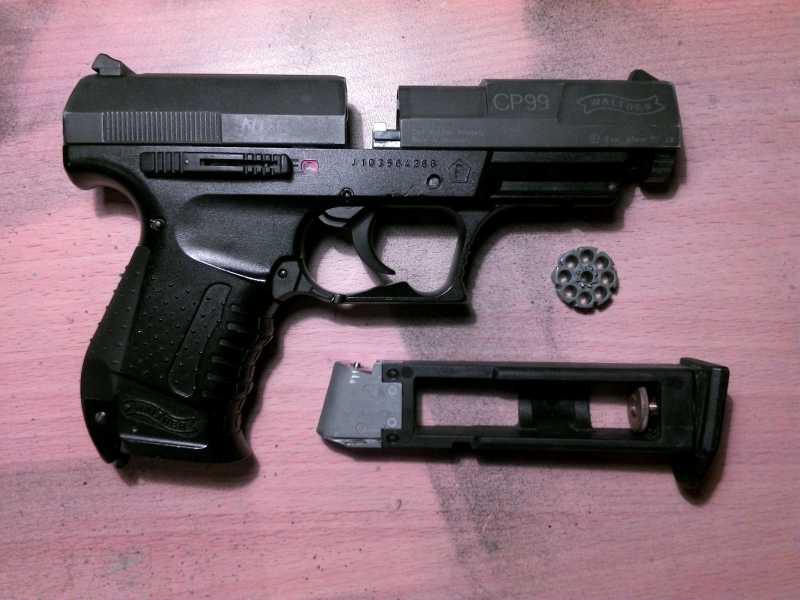 4)Обзор пистолета Umarex walther CP 99