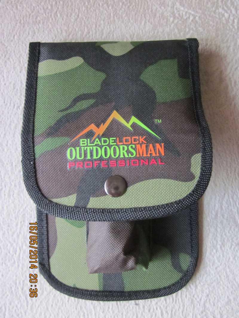 3)обзор ножа Bladelock outdoorsman professional