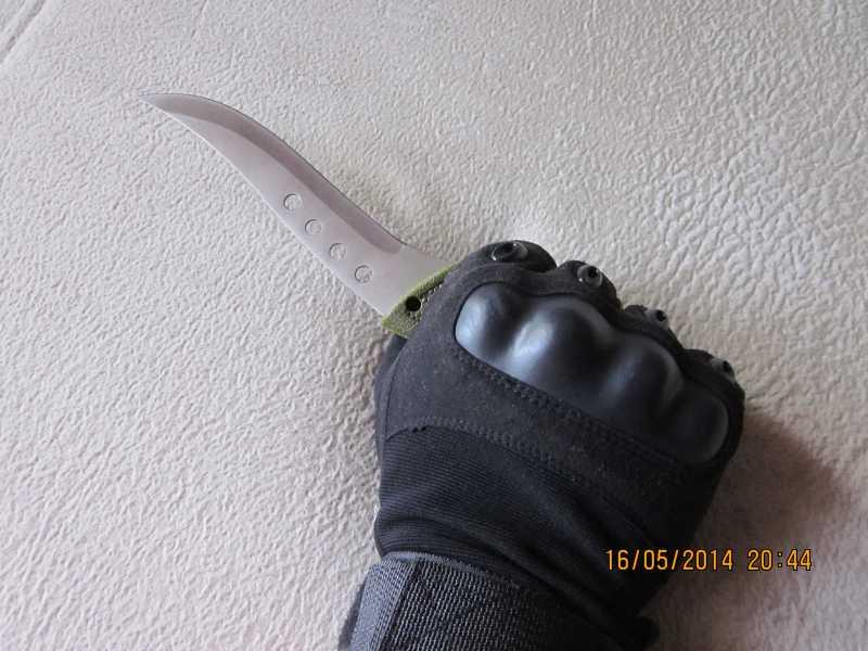 10)обзор ножа Bladelock outdoorsman professional