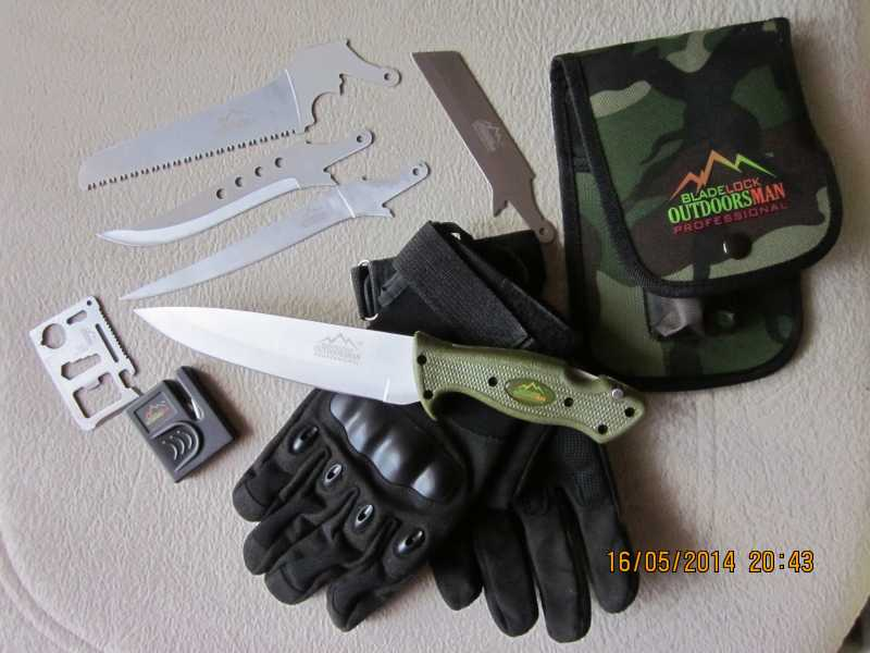 14)обзор ножа Bladelock outdoorsman professional