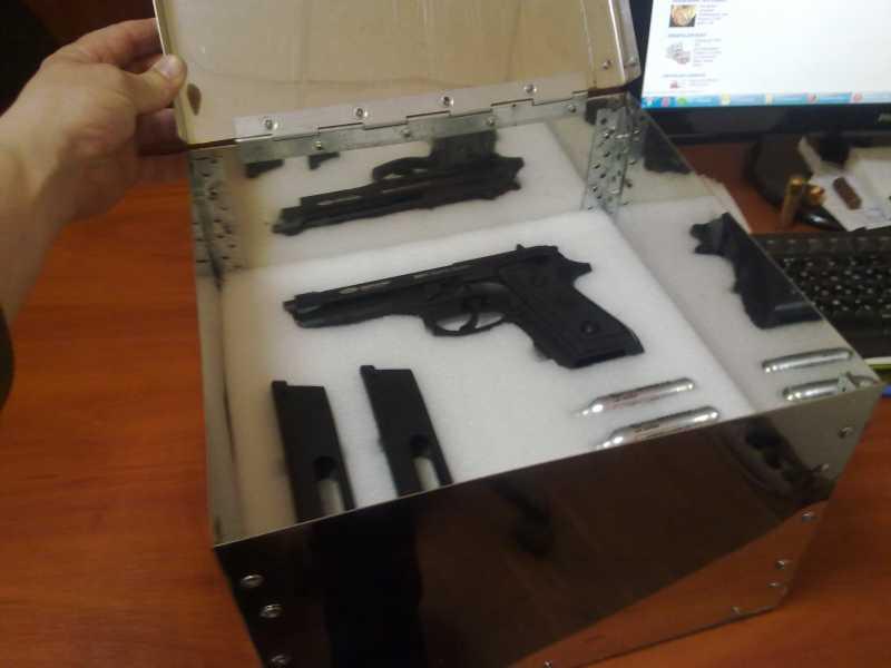 3)Оружейный ящик своими руками.