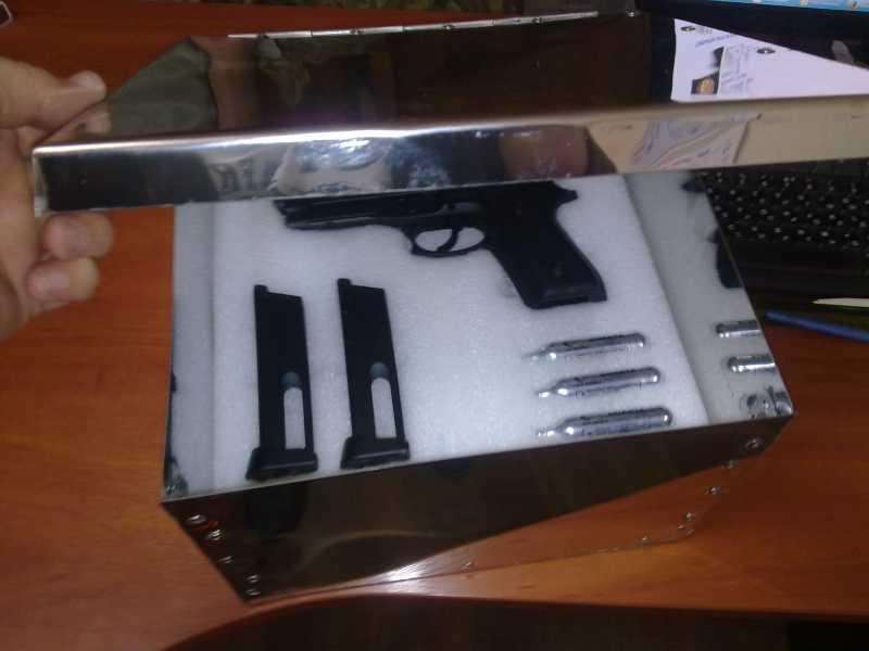 4)Оружейный ящик своими руками.