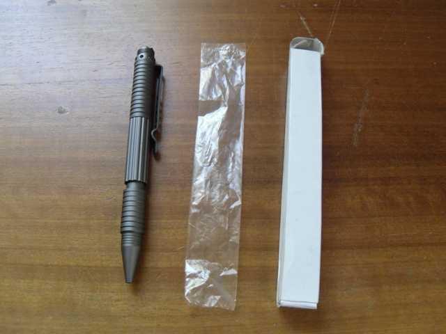 1)Обзор тактической ручки от Viking Nordway