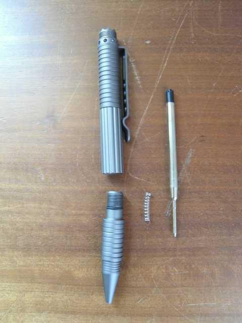 4)Обзор тактической ручки от Viking Nordway