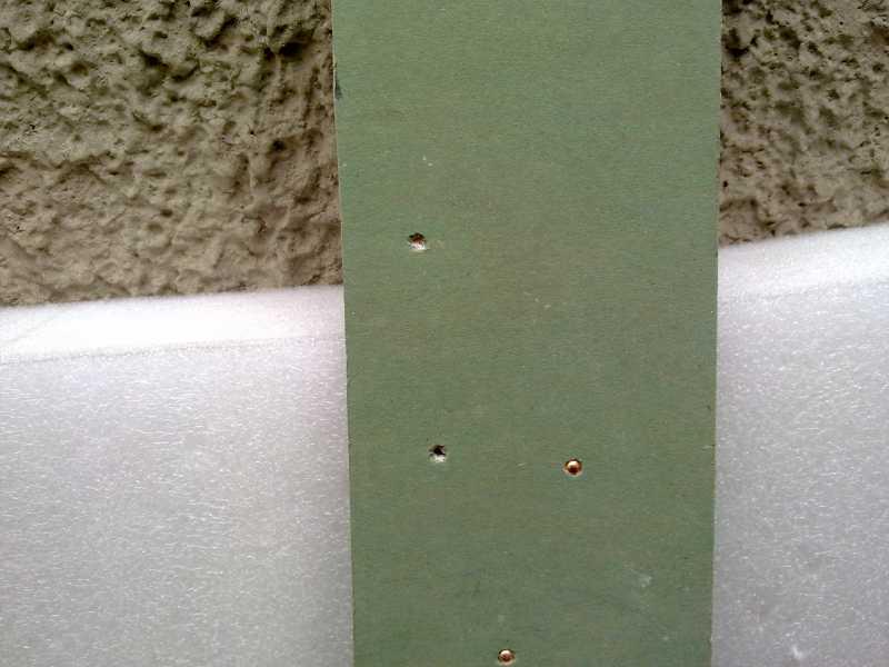 10)Отчет о стрельбе по различным материалам. Gletcher BRT 92 FS AUTO
