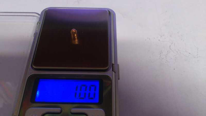 11)Погрешность веса, как одного из важных параметров, пуль для пневматики.