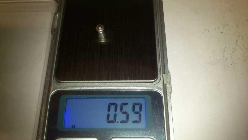 18)Погрешность веса, как одного из важных параметров, пуль для пневматики.