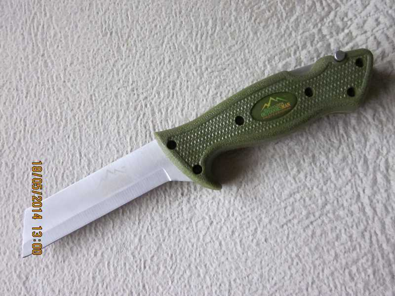 9)обзор ножа Bladelock outdoorsman professional