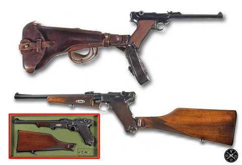 Пистолеты-карабина на основе Luger P08