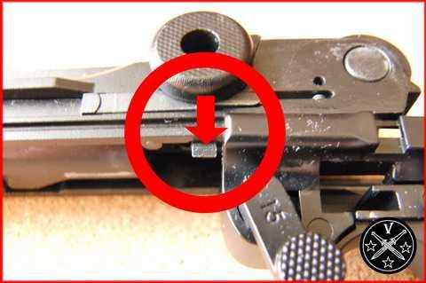 Сборка пистолета