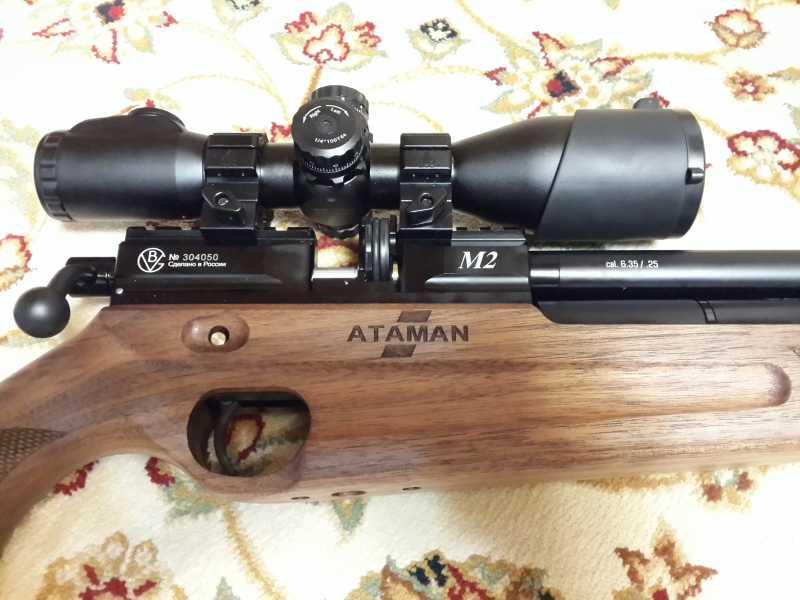 2)Атаман M2R или лучшая в мире РСР винтовка часть 2