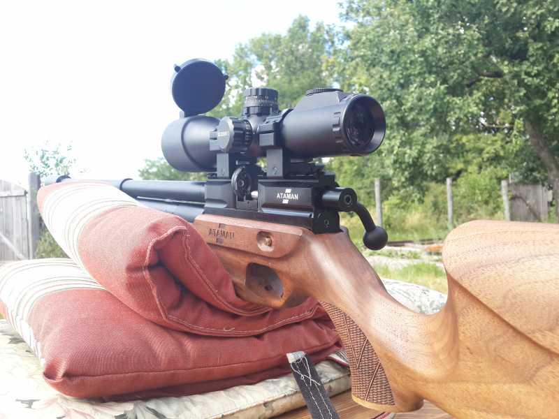 11)Атаман M2R или лучшая в мире РСР винтовка часть 2
