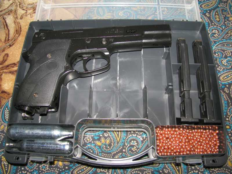 2)Бокс для пистолетов