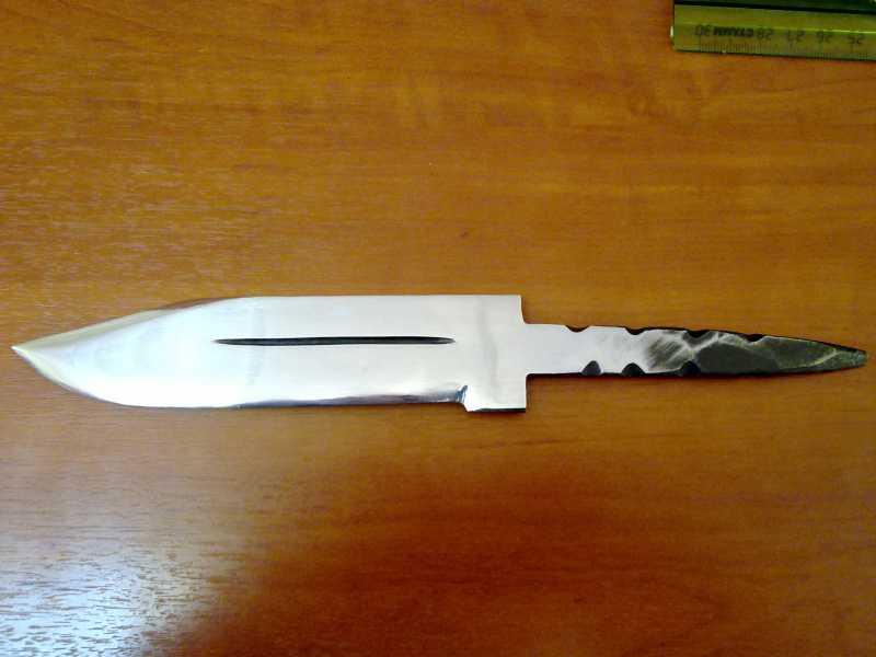 1)Как сделать нож кривыми руками.