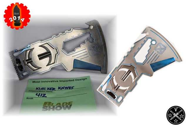 Нож «Ti-KLAX » компании «Klecker Knives».