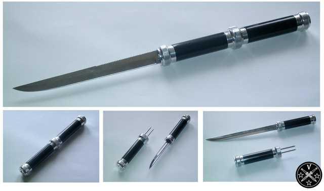 Нож Фортель