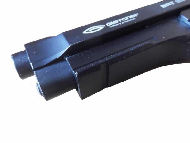 6)Пистолет пневматический Gletcher BRT 92 FS auto