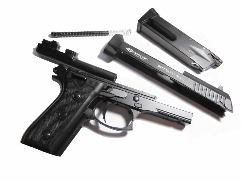 3)Пистолет пневматический Gletcher BRT 92 FS auto
