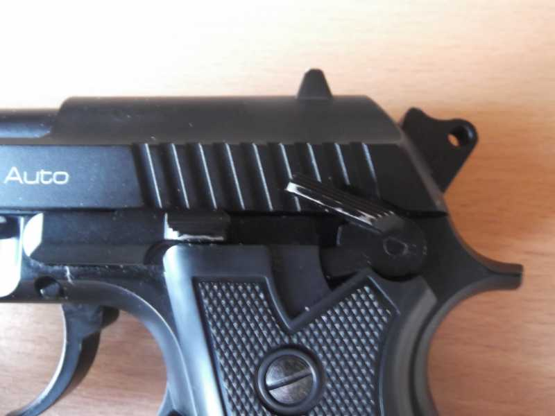 7)Пистолет пневматический Gletcher BRT 92 FS auto