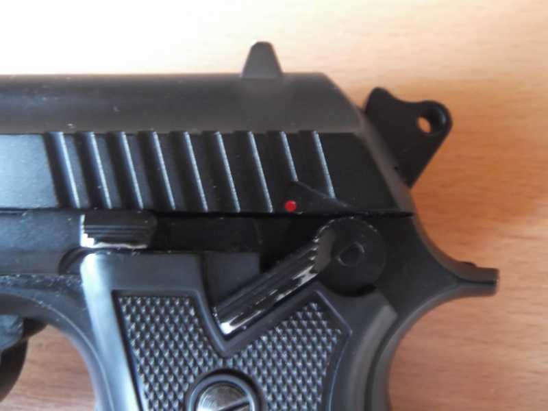 9)Пистолет пневматический Gletcher BRT 92 FS auto