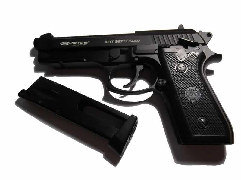 10)Пистолет пневматический Gletcher BRT 92 FS auto