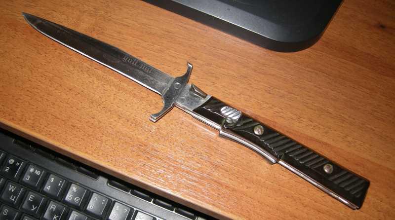 1)Ножик из моей коллекции