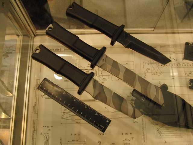 Тактические ножи компании Кампо